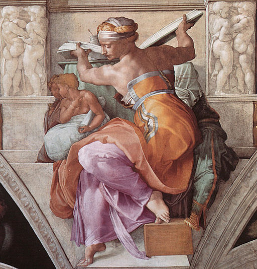 Michelangelo LibyanSibyl - SistineChapel