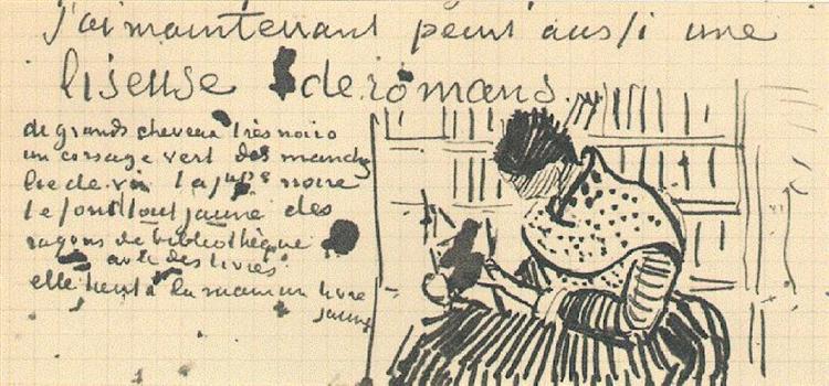 Van Gogh woman-reading-a-novel-1888