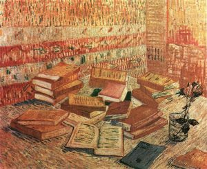French Novels and Rose Van Gogh 1888