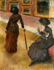 Degas Mary-cassatt-at-the-louvre